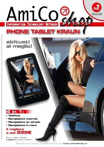 PHONE TABLET KRAUN - AmiCo Shop