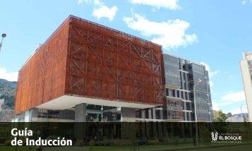 Guía de Inducción 2013-2 - Universidad El Bosque