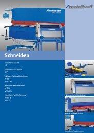 Schneiden - HK Maschinentechnik