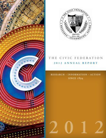 2012 Annual Report - The Civic Federation