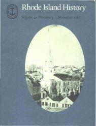 A l'l'l';ell' - Rhode Island Historical Society