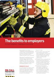 The benefits to employers
