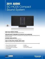 2011 AudiO SC-HC05 Compact Sound System - TVsZone.com