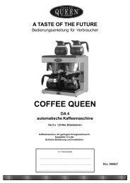 DA-4 COFFEE QUEEN - Crem International