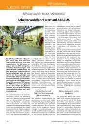 SUCCESS STORY - Industrie Management