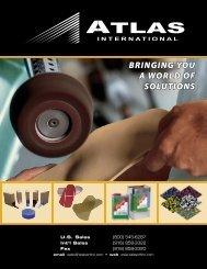 BRINGING YOU A WORLD OF SOLUTIONS - Atlas International