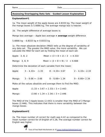 Entrepreneurship Math Worksheet