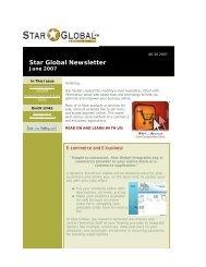 E-commerce and E-business - Volume 1, Issue 5 - June 2007