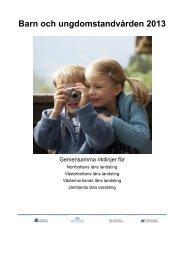 Övergripande riktlinjer för barn och ungdomstandvård - Landstinget ...