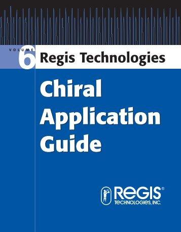 Regis Technologies - Bujno Chemicals