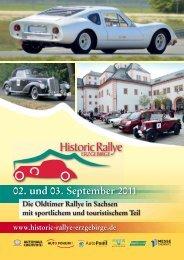 Fordern Sie unseren kostenlosen Katalog an! - Historic Rallye ...