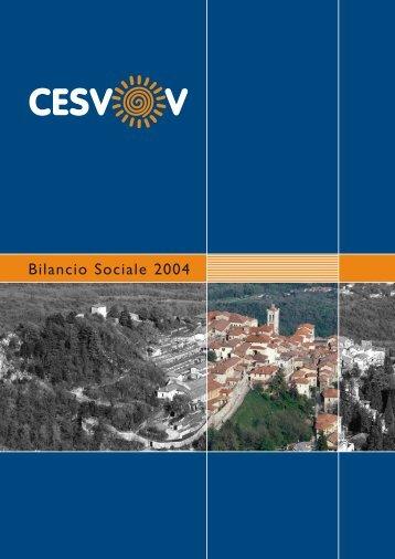 Bilancio Sociale 2004 - Cesvov