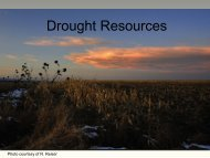 Climate Outlook Summary and NIDIS ... - US Drought Portal