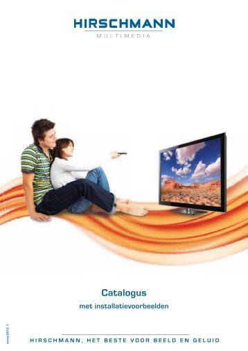 4 CAI-aansluitingen - Hirschmann Multimedia