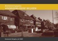 VOOROORLOGSE WIJKEN - Gemeente Hengelo