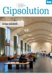 Knauf Gipsolution 3/2012