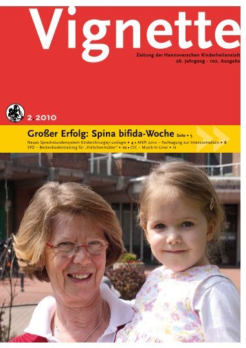 Spina bifida-Woche Seite Ω 5 - HKA: Spendeninformationen ...