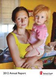 2012 Annual Report - Salvati Copiii