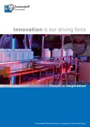 Innovation is our driving force - Trommsdorff GmbH & Co. KG