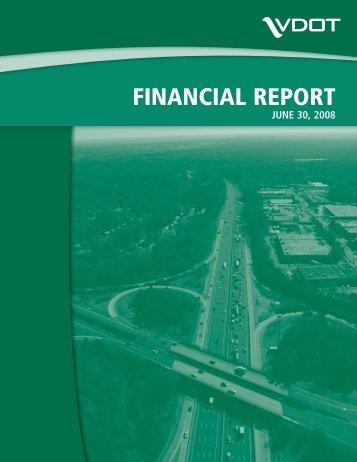 2008 - Virginia Department of Transportation