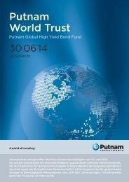 Swiss - World Trust Annual Report - Putnam Investments
