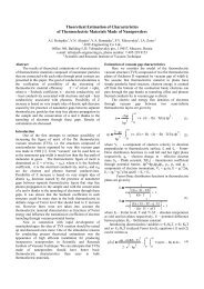 Theoretical Estimation of Characteristics of Thermoelectric Materials ...