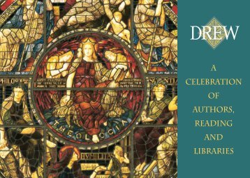 the friends of drew university library