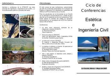 Estética e Ingeniería Civil - ETS | Ingenieros de Caminos, Canales y ...