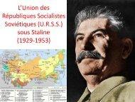 Staline, héritier de Lénine