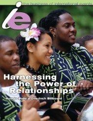 IE Summer 2002 C - International Festivals & Events Association