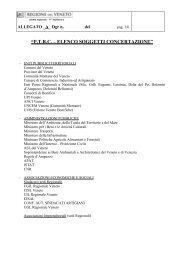 Elenco soggetti concertazione - PTRC Piano Territoriale Regionale ...