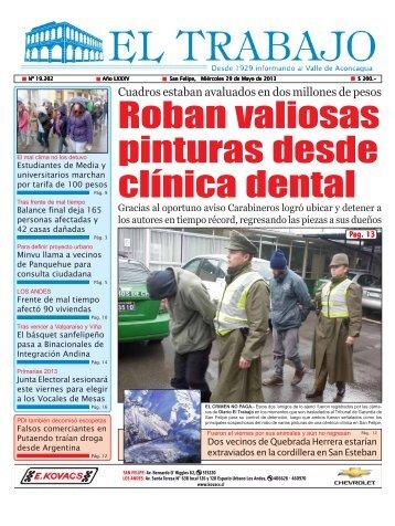 miercoles 29 de mayo 2013 - Diario El Trabajo