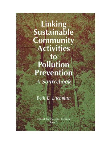 Linking Sustainable Community Activities to Pollution Prevention