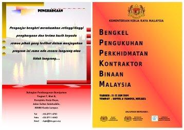 Buku Aturcara.pdf - Kementerian Kerja Raya Malaysia