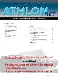 Athlon Net luglio 2010 - Fijlkam