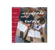 Notre école est - Agence Europe-Education-Formation France