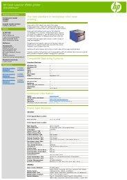 HP Color LaserJet 3550n Printer Discontinued     - Everprint com