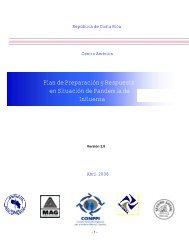 Plan de Preparación y Respuesta en Situación de Pandemia de ...