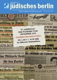 י ר ח ו ן ק ה י ל ת ב ר ל י ן - Jüdische Gemeinde zu Berlin