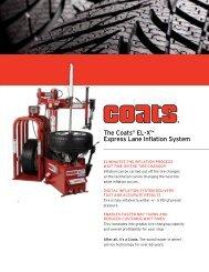 the coats® El-X™ Express lane inflation system - NY Tech Supply
