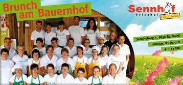 Sennhof+BRUNCH - Vorderland