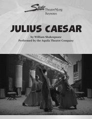 JULIUS CAESAR - State Theatre