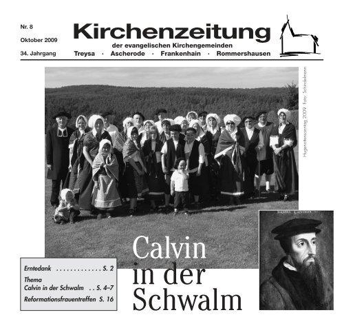 4. und 5. November 2009 Antreffhalle - Ev. Kirchengemeinde Franz ...