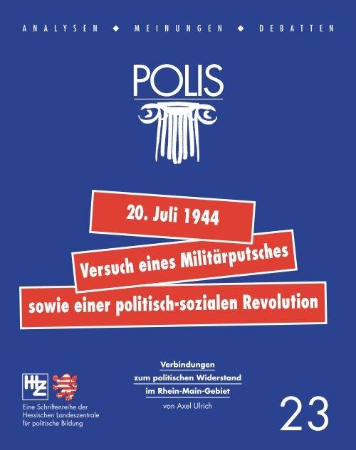 sowie einer politisch-sozialen Revolution - Hessische ...