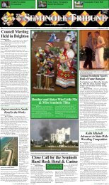 February 27 - Seminole Tribe of Florida