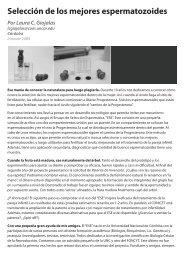 Selección de los mejores espermatozoides - Innovar