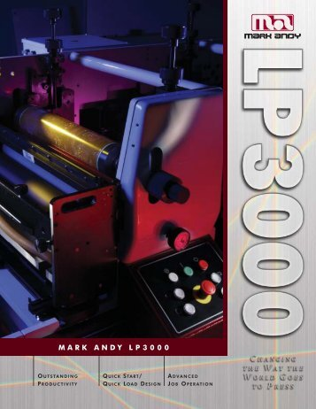 Mark Andy LP3000 - FlexoImageGraphics