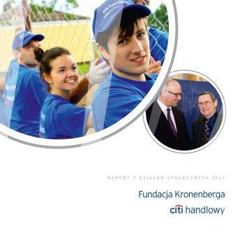 Raport z działań społecznych 2011, plik PDF - Citibank Handlowy