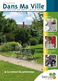 Magazine de mars - Saint-Leu-La-Forêt