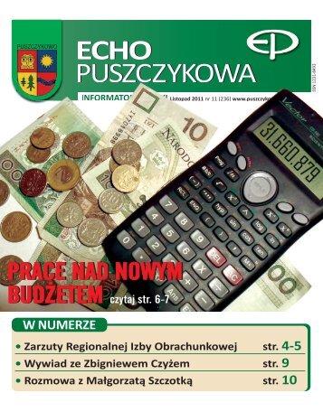 Listopad 2011 - Puszczykowo, Urząd Miasta